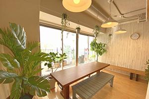 ヨガスタジオのリラックススペース(立川)