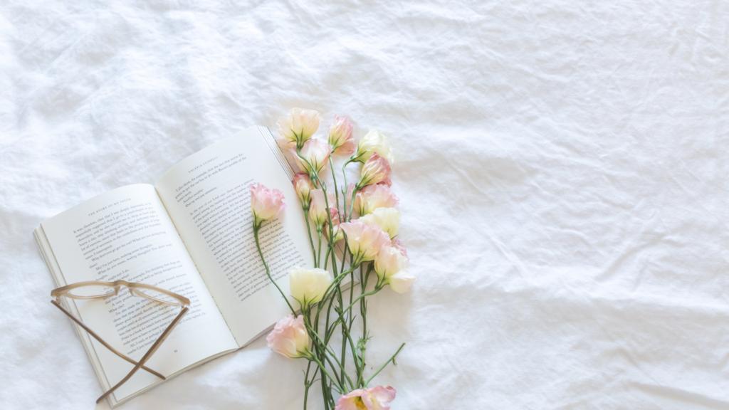 ヨガと読書とお花