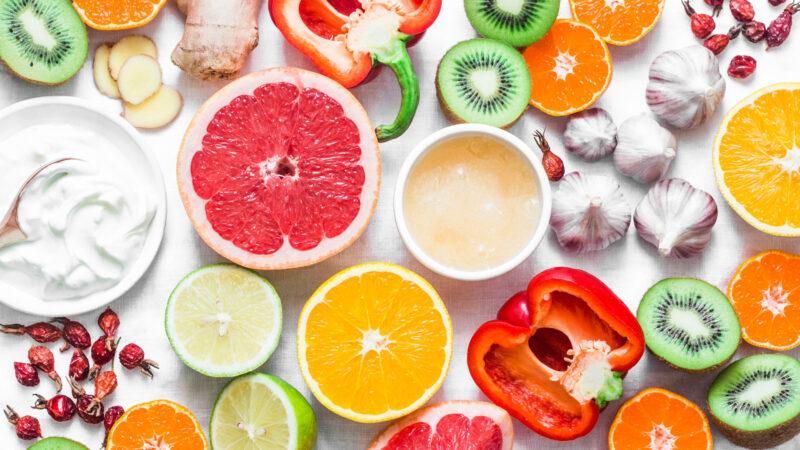 免疫力が高まるフルーツや野菜